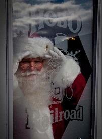 2013 - Santa at the window