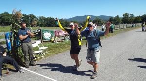 ridge race finishers