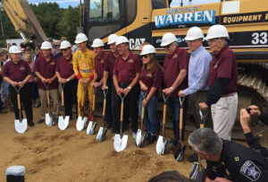 NHMS groundbreaking fall 2015